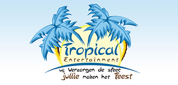 Logo tropical entertainment light and sound Breda