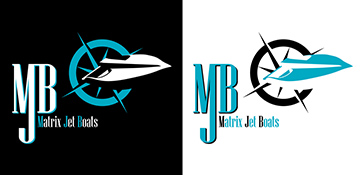Logo matrix jet boats speedboat speedboats boat